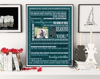 Best Birthday Gift For Husband Turning 40 Satu Sticker