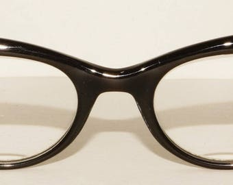 1950s  Bausch Lomb Cat Eye Glasses Vintage Retro