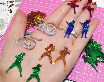 Confetti Flakes/Resin Crafting Supplies -- Iconic Anime 2