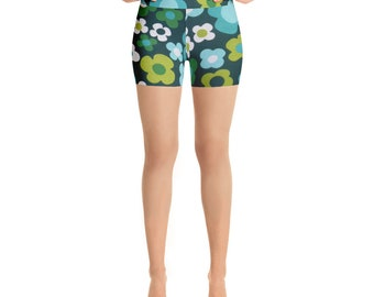 Flora Yoga Shorts