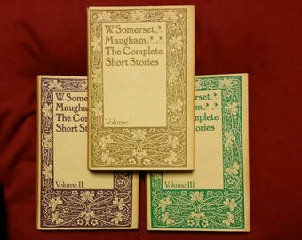W. Somerset  Maugham - The Complete Short Stories volumes 1, 2 & 3 (Book Club Associates 1973)