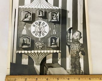 Vintage 1950s Howdy Doody Show Press Photos