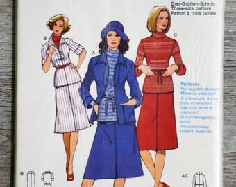 Pouch pattern Burda 30317 - suit (Vintage)
