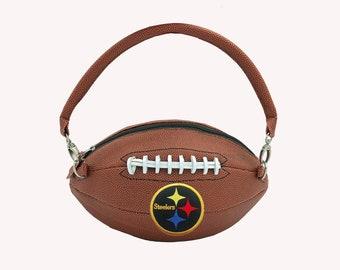 Pittsburgh Steelers Football Purse
