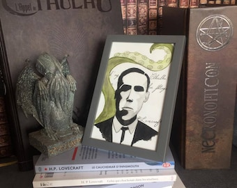 Print H.P. Lovecraft – Cthulhu - quote