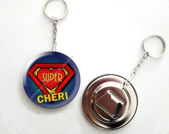 Keychain bottle opener - 56mm - super baby