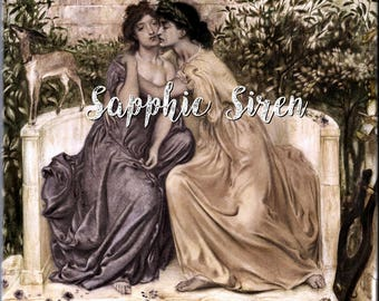 SAPPHIC SIREN PHEROMONES | Crystal Infused Oil | Pheromone Perfume For Women to Attract Women