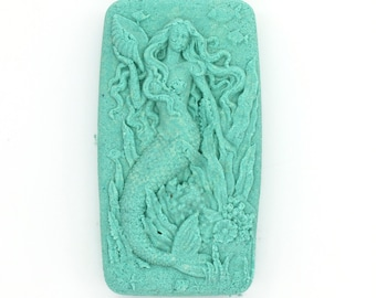 Mermaid Bath Bomb - Style 1 - mythological creatures, ocean, sea, fish, party favor, siren, bath fizzy, bath bombs, bath fizzies,