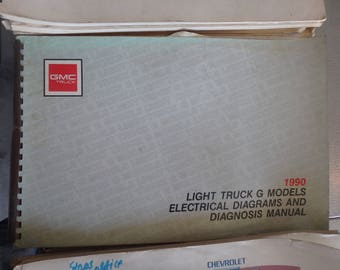 1990 chevrolet electrical diagnosis & diagrams- Light truck G-models