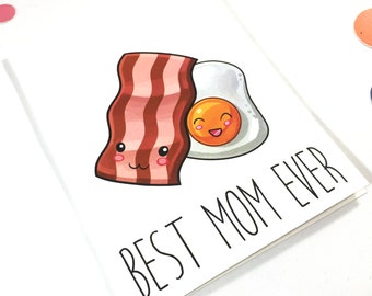 PRINTABLE Mothers Day Card for Mom - Blank - Mothers Day Card - Best Mom Ever