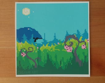 The Meadow | Pixel Art