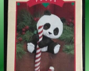 Hallmark Stocking Hanger Panda MIB 1984