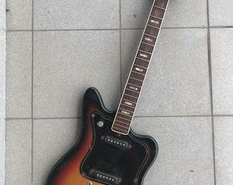 Musima De Luxe  25V Vintage Guitar Jazzmaster Jaguar Electric Rare DDR GDR USSR