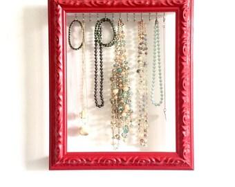Jewelry Organizer, Jewelry Organizer Wall, Necklace Hanger, Jewelry Holder, Jewelry Display