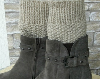 Instant Download DIY Knitting Pattern PDF Knit Boot Cuffs pattern Digital Boot Toppers Knitting PATTERN  Boot Cuffs Boot Topper Knit Pattern