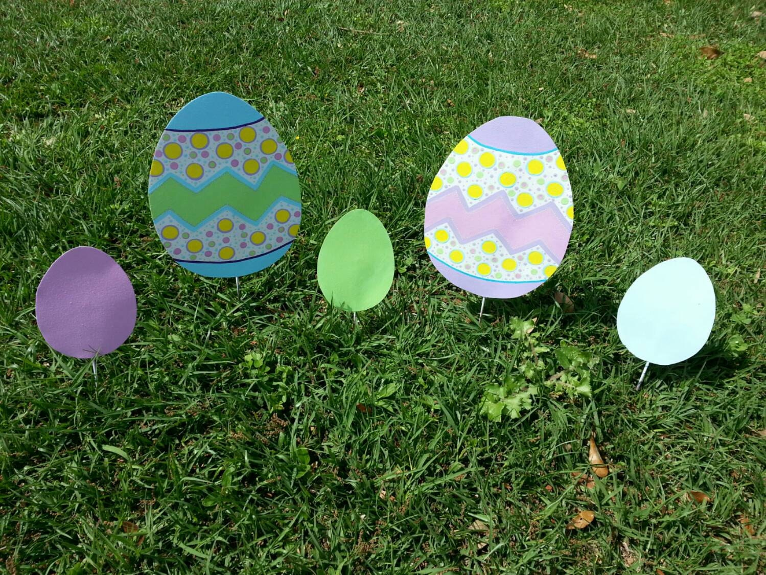 Easter Yard Decorations Garden Decor Easter Garden Art Easter