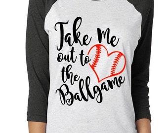 Take Me Out To The Ballgame Shirt