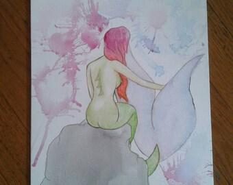 Ombre mermaid