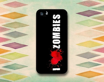I Heart Zombies Case: iPhone 4 // 4s, 5c or 5 // 5s.