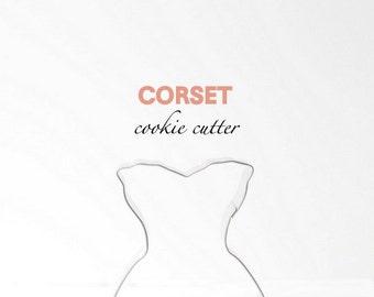 Corset Lingerie Cookie Cutter