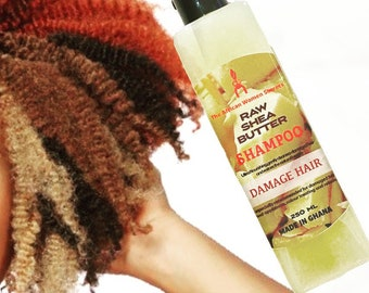 Raw Shea Butter Shampoos
