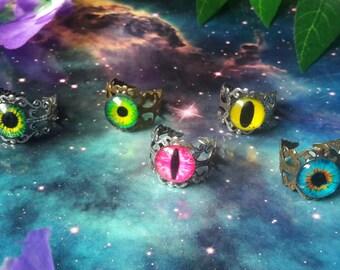Cosmic eye ring