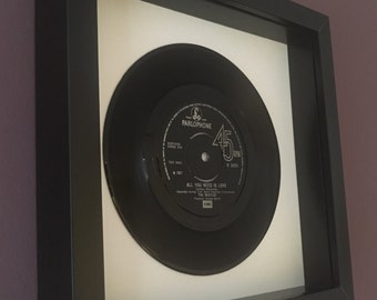 All You Need Is Love - Framed Vinyl Gift
