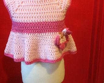 Crochet Butterfly Dress