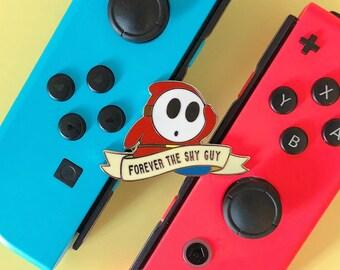 FOREVER SHY GUY - Mario Kart Hard Enamel Pin