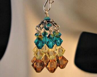 Crystal Chandelier Earrings,crystal earrings,silver earrings,chandelier earrings,swarovski crystal earrings,swarovski,crystal,earrings