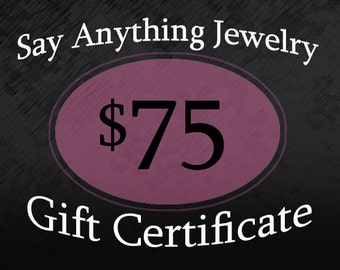 Gift Certificate - 75