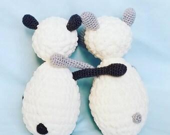 Crochet Lamb Amigurumi Sheep Stuffed Animal