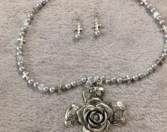 Rose&Vine Cross