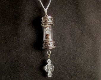 Glass Tube Necklace
