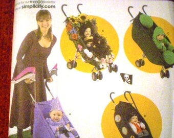 Costume and Stroller Cover Simplicity 4021 Sewing Pattern for Kids