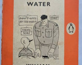 Vintage Penguin Paperback First Edition 'Don't Go Near the Water' by William Brinkley 1956