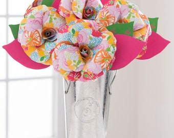 ENGLISH GARDEN Paper Flowers Handmade Paper Roses Arrangement, Paper Anniversary, Unique Gifts Mom Mother's Day and  Graduation 2018