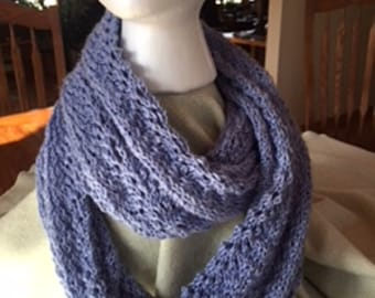 Cowl, hand knitted S 119