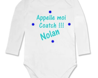 Bodysuit call me... personalized with name