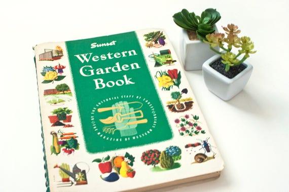 Vintage 1960s Sunset Western Garden Book 2nd Edition