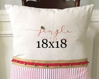 "Pillow form, 20""x 20"" pillow form, Add on pillow form"