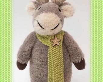 Rowan the reindeer knitting pattern