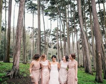 Rose Gold Bridal Belt, Rose Gold Wedding Belt, Rhinestone Bridal Sash, Blush Bridal Rhinestone Bridal Belt, Sparkly Gold Sash