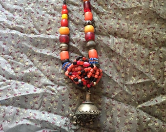 Afghani Beaded Necklace