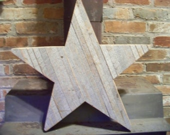 "22"" Barn wood Star"