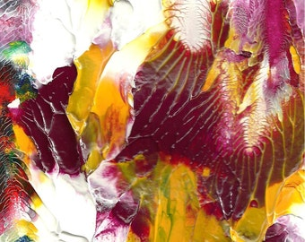 Flower Bouquet Abstract Painting