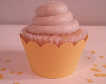 Bright Yellow Cupcake Wrappers-12CT