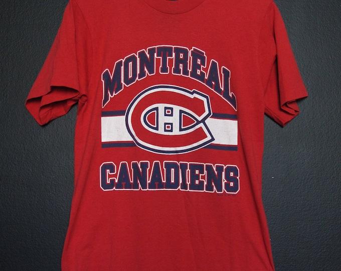 Montreal Canadiens Habs NHL 1989 vintage Tshirt