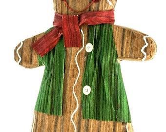 "12"" Gingerbread Cookie Boy/Wreath Supplies/Christmas Decor/23992"