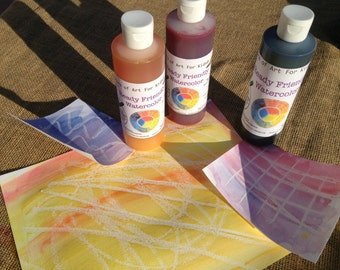 Sensory Play, paints, kids arts and crafts supplies, safe